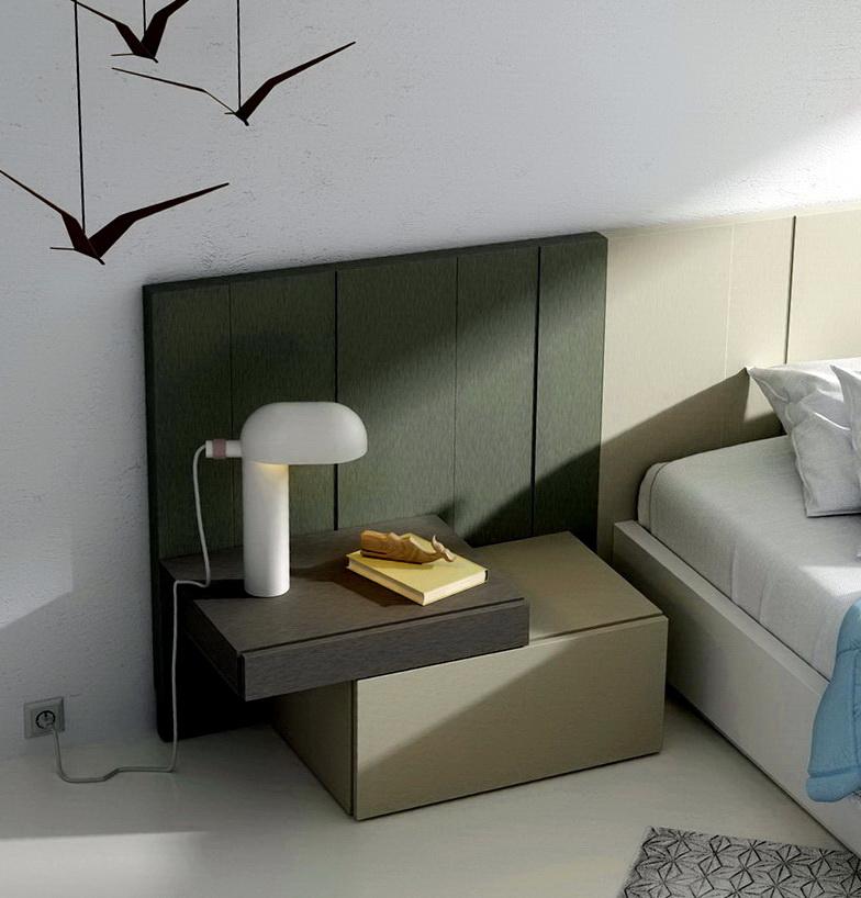 Mesita dormitorio moderno by Lagrama LifeBox&AddLiving C131015.1 de venta en Muebles ANTOÑÁN León